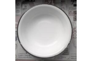 эмалированная тарелочка