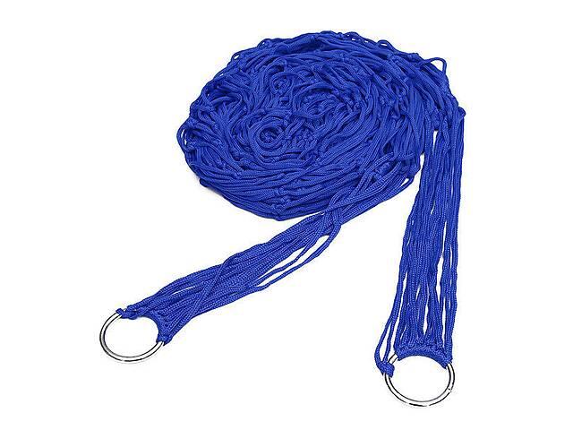продам Гамак сетка на кольцах Kronos Top 270 х 80 см Blue (gr_003795) бу в Киеве