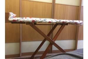 Гладильная доска деревянная