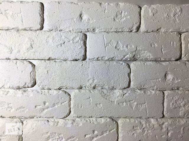бу Гипсовая декоративная плитка (кирпич) Римская белая 0,25 кв.м. в Городенке