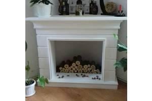 каминный портал,  декоративный камин,  гипсовый камин,  гіпсовий портал