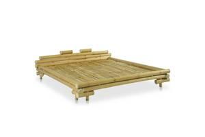 Каркас кровати из бамбука 180 x 200 cm бежевый код 247292
