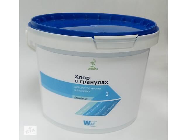 продам Хлор в гранулах AQUA POOLS 5 кг (10601014) бу в Одессе
