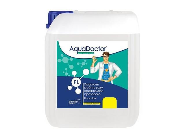 купить бу Коагулянт для осветления воды в бассейне Aquadoctor FL жидкость 1 л (bint_AD FL 1) в Киеве