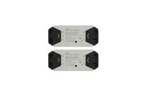 Комплект 2 шт беспроводной WiFi выключатель Kronos smart реле (gr_008207)