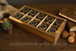 Коробочка для часов со стеклянной крышкой 10