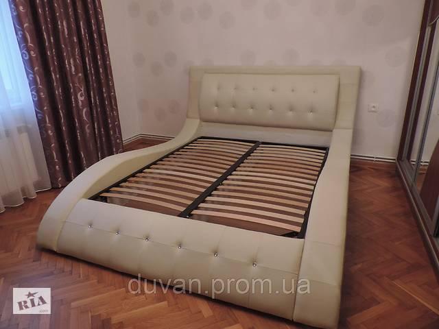 продам Кожаная кровать с подъемным механизмом IRENA бу в Львове