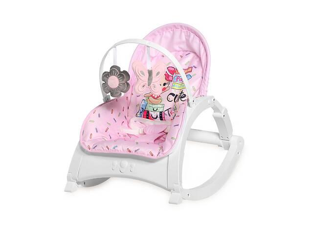 купить бу Кресло-качалка Lorelli Enjoy Розовый в Одессе