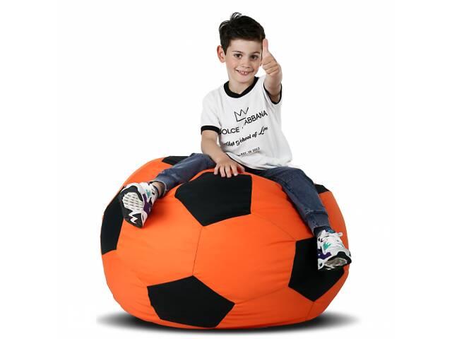 купить бу Кресло-мяч Оранжевый с черным Средний 100х100 в Одессе