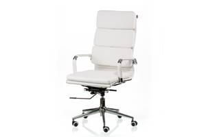 Кресло офисное Special4You Solano 2 Artleather White (E5296)