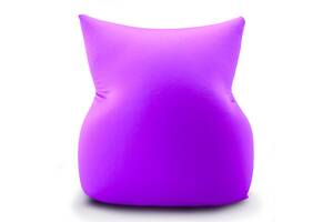 Кресло подушка трансформер Coolki Bubble Boom L 100x75 Violet (Спандекс)