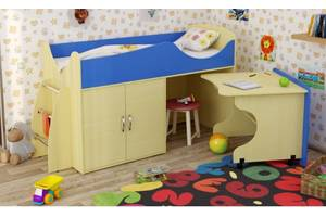 Кровать-чердак для меленьких детей МКЧ 101