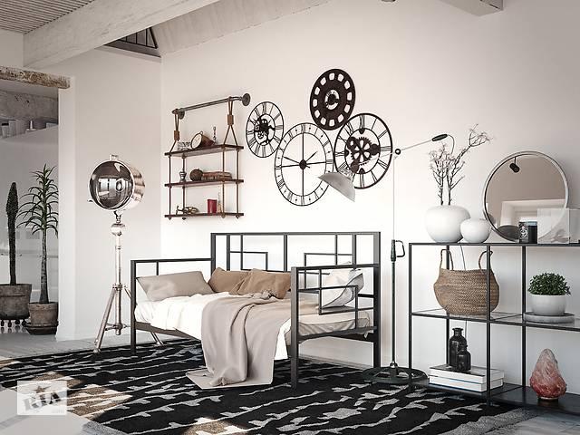 продам Кровать-диван Tenero Лофт Эсфир 90 см х 190 см Черный бархат бу в Киеве