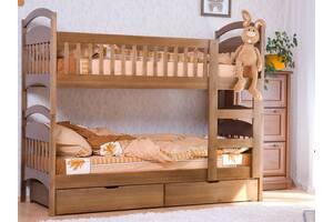 Кровать Карина двухъярусная, трансформер с ящиками.