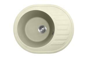 Кухонна мийка гранітна Policomposite M03 Ванільна