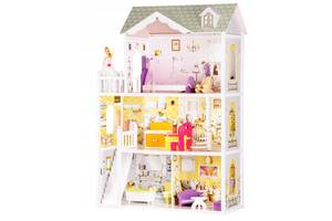 Кукольный домик игровой для Барби  Ecotoys 4108 Beverly + кукла