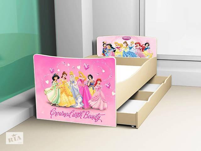 купить бу Кровать детская Киндер Принцессы Дисней.Бесплатная Доставка в Львове