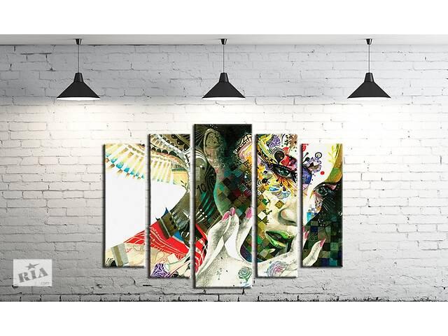 Модульна картина на полотні ProfART SM5-154 120 х 80 см Дівчина (hub_cUJe92455)- объявление о продаже  в Одесі