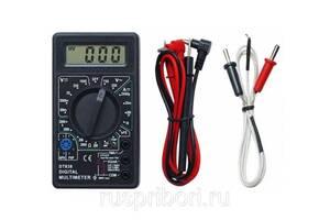 Мультиметр цифровой DT 838 +датчик t°