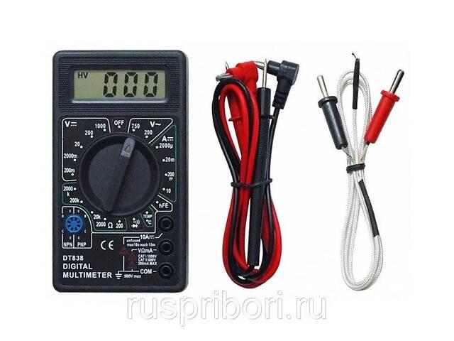 купить бу Мультиметр цифровой DT 838 +датчик t° в Турийске