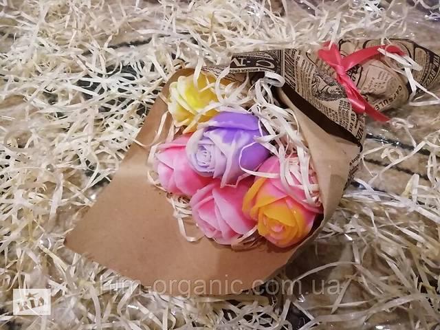 купить бу Мыло ручной работы Букет роз в Харькове
