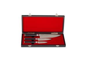 Набір ножів& quot; Кухарський трійка& quot; Samura Mo-V 3 шт