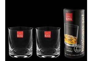 Набор стаканов для виски Rona 390 мл 2 пр тубус 1605
