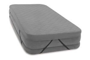 Наматрасник для надувных кроватей Intex 69643 203 х 152 см Серый (bint_69643)