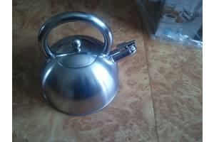 Экологический Чайник 2,5 л. индукция - нержавейка без бакелита на ПОДАРОК