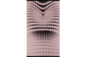 Обогреватель-картина инфракрасный настенный ТРИО 400W 100 х 57 см абстракция Hi-Tech 3D (gr_010242)