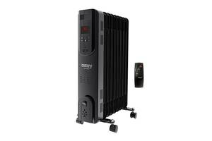 Обогреватель масляный радиатор Camry CR 7810 с пультом управления 9 ребер 2000 Вт Черный (gr_014716)