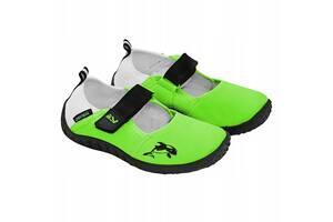 Обувь для пляжа и кораллов, аквашузы SportVida SV-DN0010-R33 Size 33 Green SKL41-227715