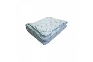 Одеяло Arda Coconut, голубое с рисунком 195х220 (A135016)