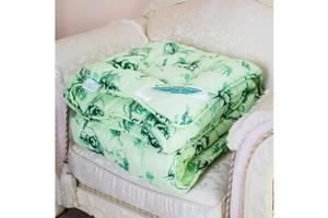 Одеяло Arda Эвкалипт, салатовое с рисунком 195х220 (A135013)