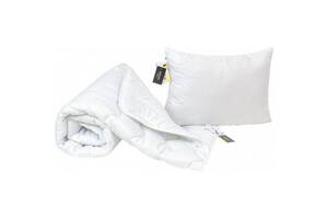 Одеяло MirSon Набор Eco-Soft Всесезонный 1693 Eco Light White Одеяло + под (2200002655330)