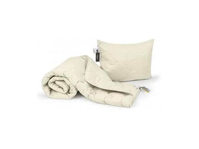 купить бу Одеяло MirSon Набор Эвкалиптовый №1701 Eco Light Creamy Одеяло 220х240+ по (2200002656061) в Харькове