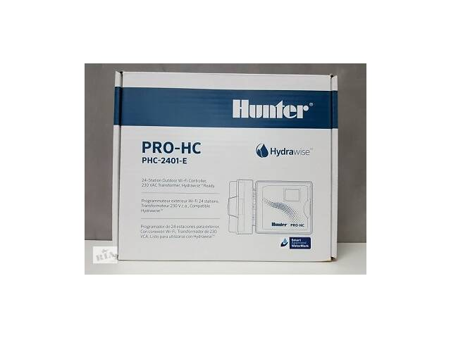 PHC-2401-E Hunter контроллер с WiFi на 24 зоны