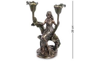 Підсвічник Veronese Дівчина 29 см 1906294