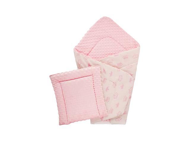 Плед DOTINEM Minky плюшевый розовый 75х100 см с подушечкой 35х35 см (215610-1)- объявление о продаже  в Одессе