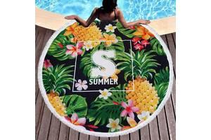 Пляжний килимок Ананас Sport Line - №6180
