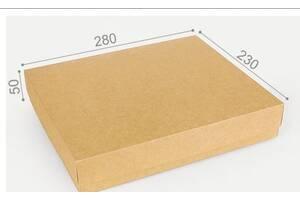 Подарункова коробка Крафт 28х23х5см