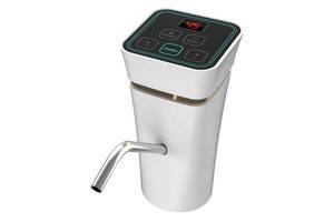 Помпа для воды автоматическая EL-1151 с аккумулятором и зарядкой USB Белая