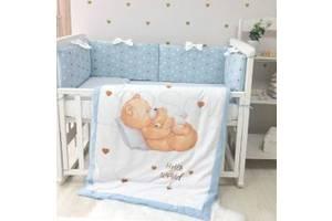 Постельный комплект Маленькая Соня Happy Baby Мальчик (6 эл.)