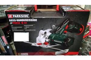 Продам Пила циркулярная торцовая аккумуляторная Parkside PHKSA 12 A1,новая из Германии