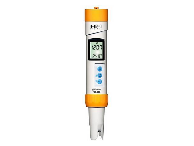бу Профессиональный влагозащищённный рН-метр PH-200 HM Digital, Inc U.S.A. (mdr_2860) в Киеве