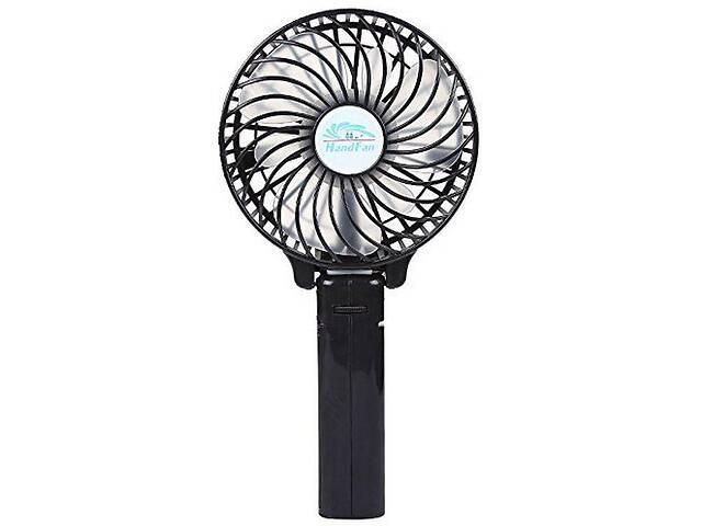 продам Ручной мини вентилятор трансформер Kronos handy mini fan с аккумулятором 18650 Black (gr_007248) бу в Киеве