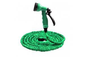 Садовый шланг для полива Magic Hose 22,5 м с распылителем Зеленый (2157_1_sp)