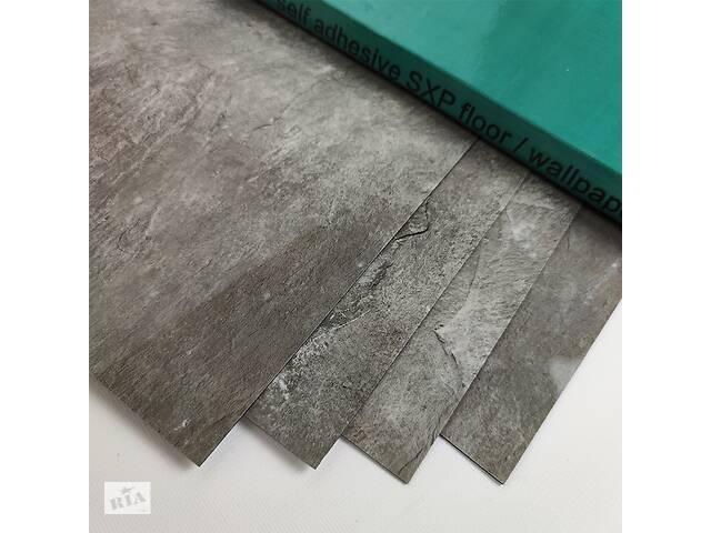 бу Самоклеящаяся виниловая плитка серебристый мрамор 600*300*1,5мм, цена за 1м2 (СВП-103-глянец) в Одессе