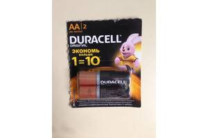 Щёлочные батарейки Duracell AA (LR06) MN1500
