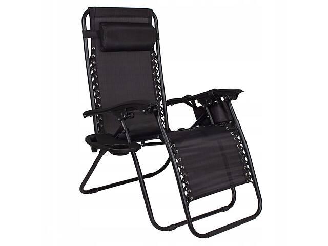 Шезлонг (кресло-лежак) для пляжа, террасы и сада Springos Zero Gravity GC0009- объявление о продаже  в Одессе